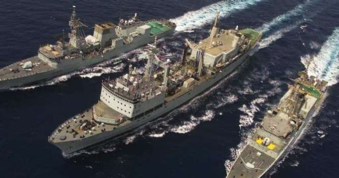 Hepburn Replenishment at Sea Solutions